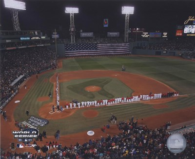 2004 World Series Opening Game National Anthem at Fenway Park, Boston Poster by Unknown for $21.25 CAD