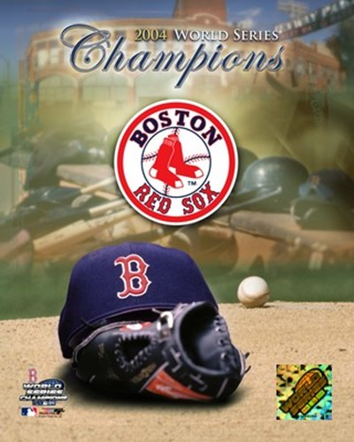 '04 Boston Red Sox World Champions and Logo Poster by Unknown for $20.00 CAD