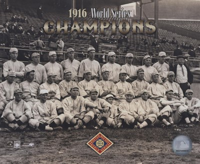 1916 World Series Champion Red SoxTeam Poster by Unknown for $21.25 CAD