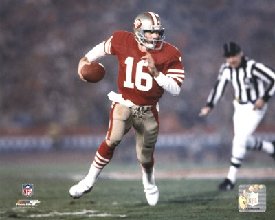 Joe Montana - #21 Poster by Unknown for $21.25 CAD