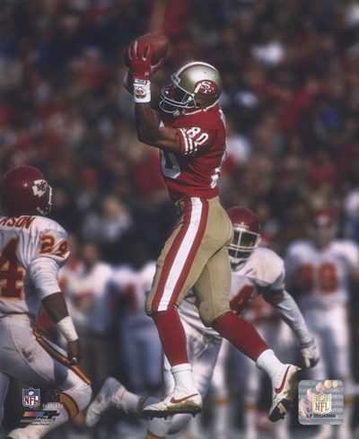 Jerry Rice - Leaping Catch Poster by Unknown for $21.25 CAD