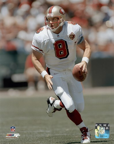 Steve Young - Rolling Out Poster by Unknown for $21.25 CAD