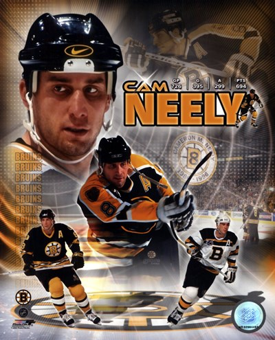 Cam Neely - Legends Composite Poster by Unknown for $21.25 CAD