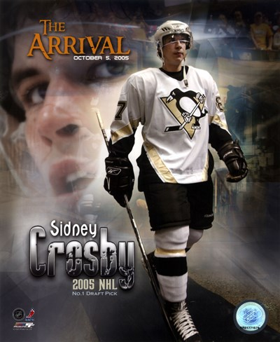 10/5/05 -  Sidney Crosby / The Arrival Poster by Unknown for $21.25 CAD