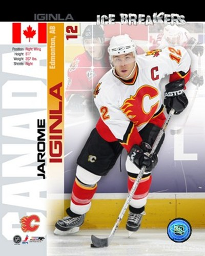 '05 / '06 Jarome Iginla - Ice Breakers Composite Poster by Unknown for $20.00 CAD
