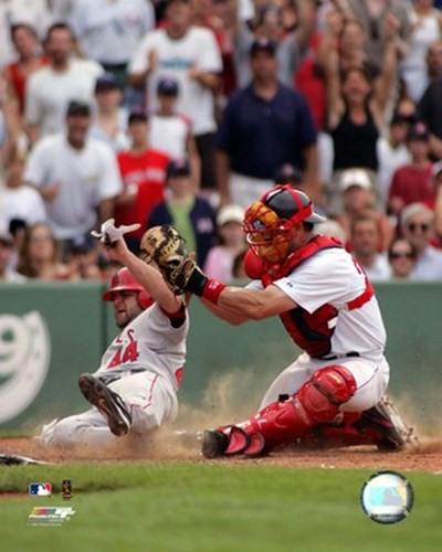 Jason Varitek - 2006 Play At The Plate Poster by Unknown for $21.25 CAD