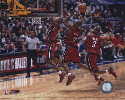 Dwyane Wade - 2006 Multi Exposure Poster by Unknown for $21.25 CAD