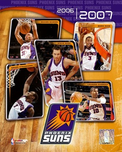 '06 / '07 - Suns Team Composite Poster by Unknown for $20.00 CAD