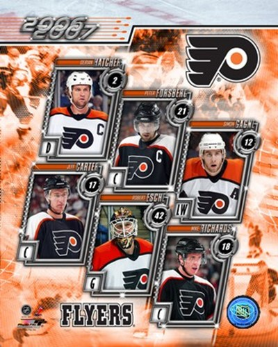 '06 / '07 -  Flyers Team Composite Poster by Unknown for $20.00 CAD