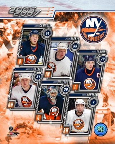 '06 / '07- Islanders Team Composite Poster by Unknown for $20.00 CAD