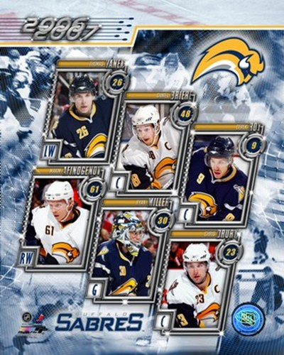 '06 / '07 Sabres Team Composite Poster by Unknown for $20.00 CAD