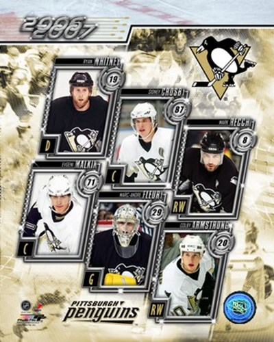 2006 - Penguins Team Composite Poster by Unknown for $20.00 CAD