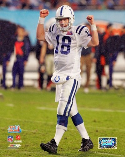 Peyton Manning SuperBowl XLI (#10) Poster by Unknown for $21.25 CAD