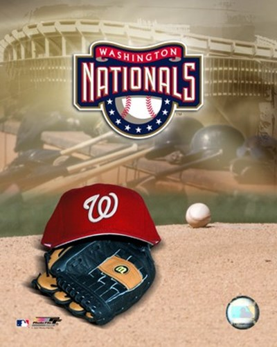 2007 - Nationals Logo Poster by Unknown for $21.25 CAD