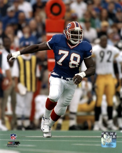 Bruce Smith Action Poster by Unknown for $21.25 CAD
