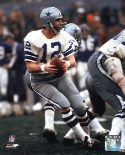 Roger Staubach Action Poster by Unknown for $21.25 CAD