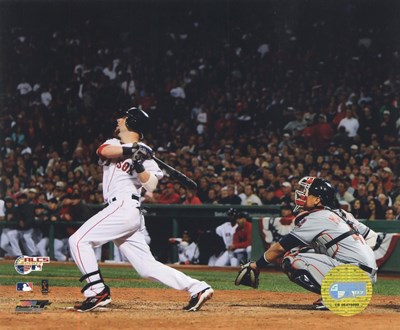 Dustin Pedroia  -'07 ALCS / Game 7 Home Run Poster by Unknown for $21.25 CAD