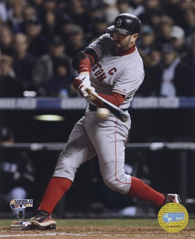 Jason Varitek '07 World Series Game 3 Poster by Unknown for $21.25 CAD