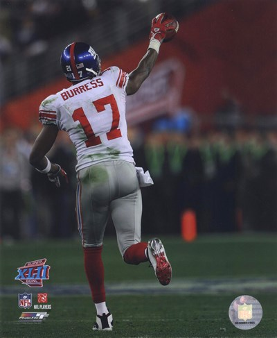 Plaxico Burress SuperBowl XLII 2007 Action #15 Poster by Unknown for $21.25 CAD