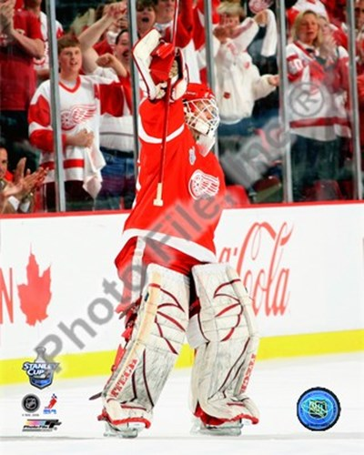Chris Osgood, first star of Game 1 of the 2008 NHL Stanley Cup Finals; #4 Poster by Unknown for $21.25 CAD