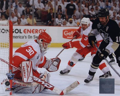 Chris Osgood, Game 4 Action of the 2008 NHL Stanley Cup Finals Poster by Unknown for $20.00 CAD