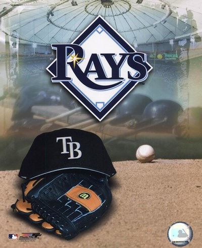 2008 Tampa Bay Rays Team Logo Poster by Unknown for $21.25 CAD