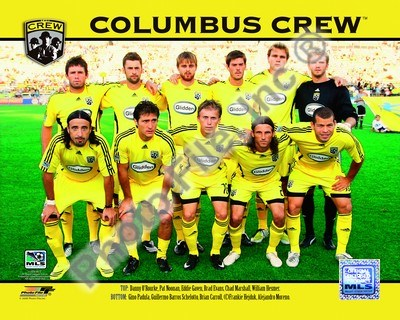 2008 Columbus Crew Team Photo Poster by Unknown for $20.00 CAD