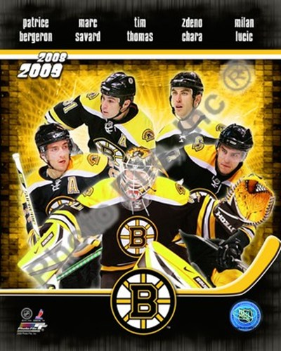2008-09 Boston Bruins Team Composite Poster by Unknown for $20.00 CAD