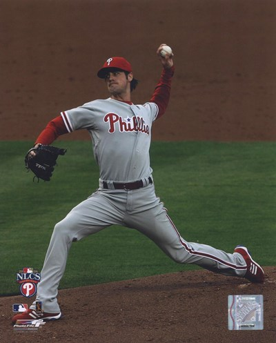 Cole Hamels 2008 Game 5 NLCS Poster by Unknown for $21.25 CAD