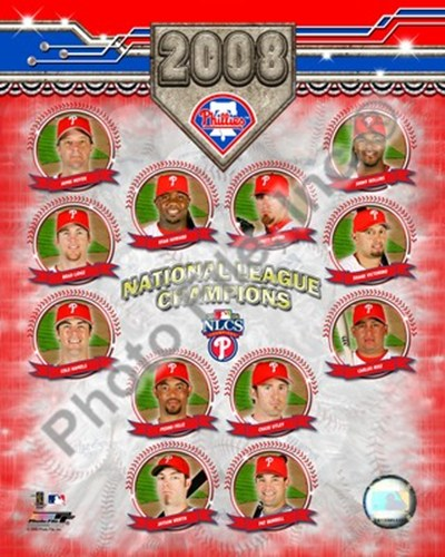 2008 Philadelphia Phillies National League Champions Composite Poster by Unknown for $20.00 CAD