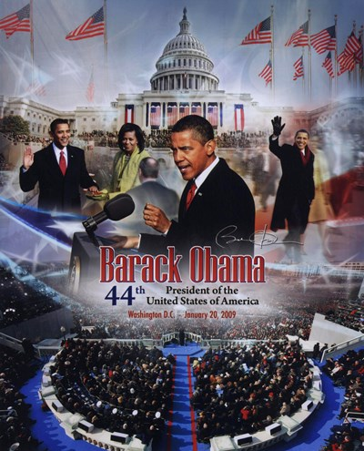 2009 Barack Obama Inaugural Portrait Plus Poster by Unknown for $21.25 CAD