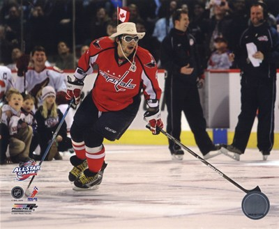 Alex Ovechkin 2008-09 NHL All-Star Game Action Poster by Unknown for $20.00 CAD