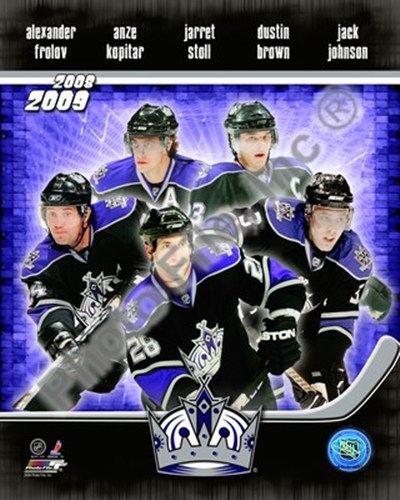 2008-09 Los Angeles Kings Team Composite Poster by Unknown for $20.00 CAD