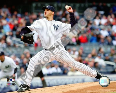 Andy Pettitte 2009 Pitching Action Poster by Unknown for $21.25 CAD