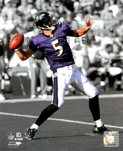 Joe Flacco 2009 In the Spotlight Action Poster by Unknown for $21.25 CAD