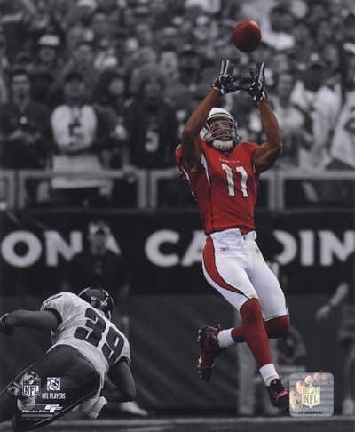 Larry Fitzgerald 2009 In the Spotlight Action Poster by Unknown for $21.25 CAD