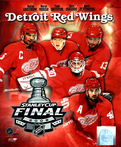 '09 St. Cup - Red Wings Big 5 Poster by Unknown for $21.25 CAD