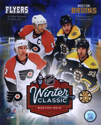 2010 NHL Winter Classic Matchup Composite Poster by Unknown for $20.00 CAD