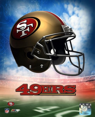 2009 San Francisco 49ers Team Logo Poster by Unknown for $21.25 CAD