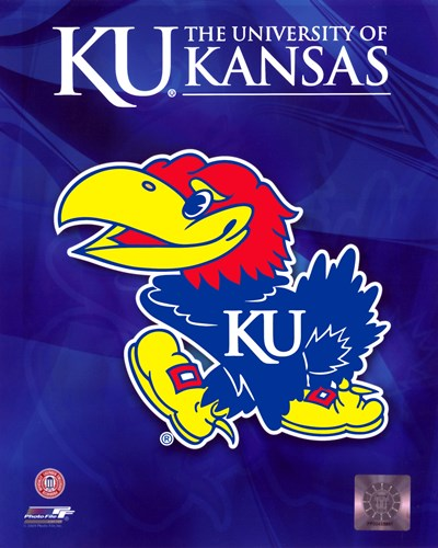 2009 University of Kansas Jayhawks Logo Poster by Unknown for $21.25 CAD