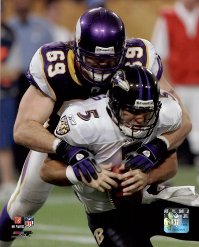 Jared Allen 2009 Action Poster by Unknown for $21.25 CAD