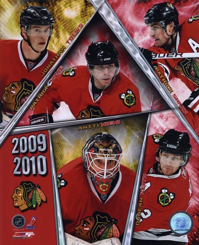 2009-10 Blackhawks Team Composite (UPDATED) Poster by Unknown for $20.00 CAD