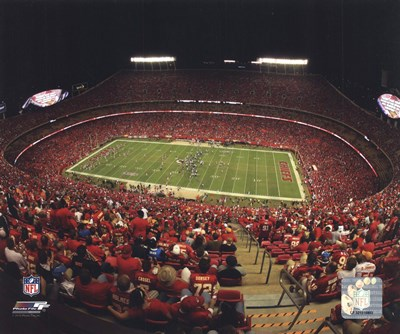 Arrowhead Stadium 2010 Poster by Unknown for $21.25 CAD