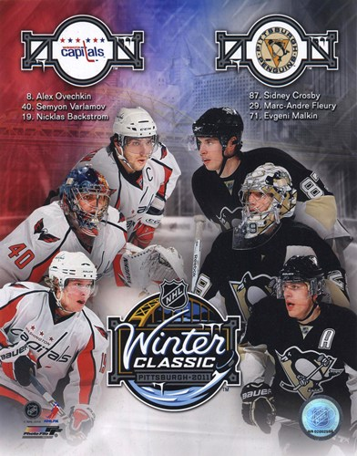 2011 NHL Winter Classic Matchup Composite Poster by Unknown for $20.00 CAD