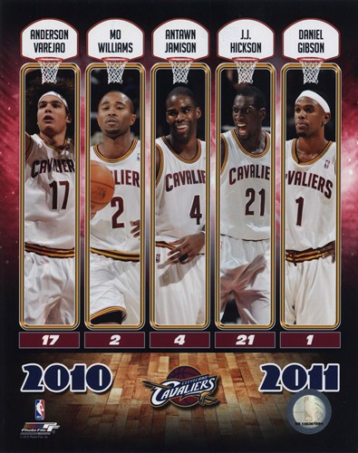 2010-11 Cleveland Cavaliers Team Composite Poster by Unknown for $20.00 CAD