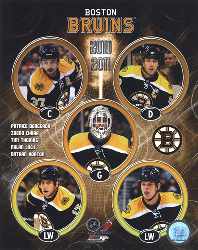2010-11 Boston Bruins Team Composite Poster by Unknown for $20.00 CAD