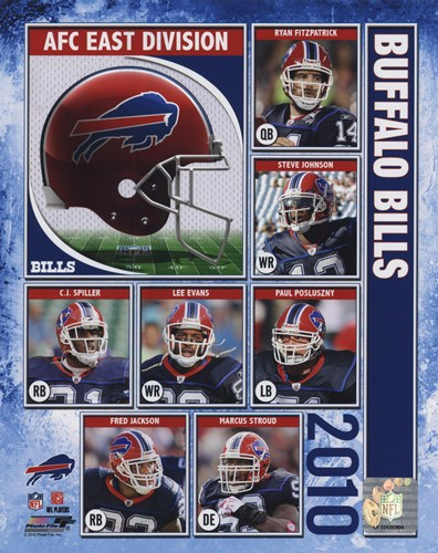 2010 Buffalo Bills Team Composite Poster by Unknown for $20.00 CAD
