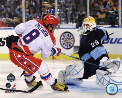 Alex Ovechkin 2011 NHL Winter Classic Action Poster by Unknown for $20.00 CAD