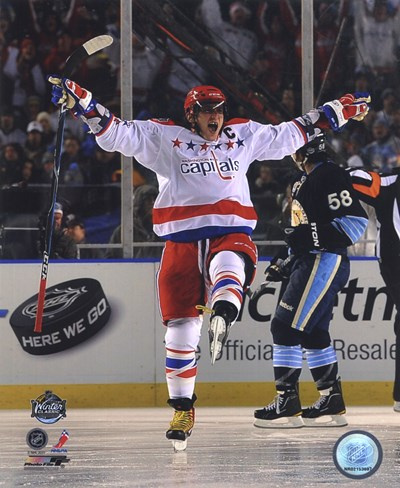 Alex Ovechkin 2011 NHL Winter Classic Action Poster by Unknown for $21.25 CAD