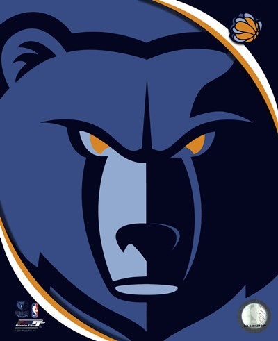 Memphis Grizzlies Team Logo Poster by Unknown for $21.25 CAD